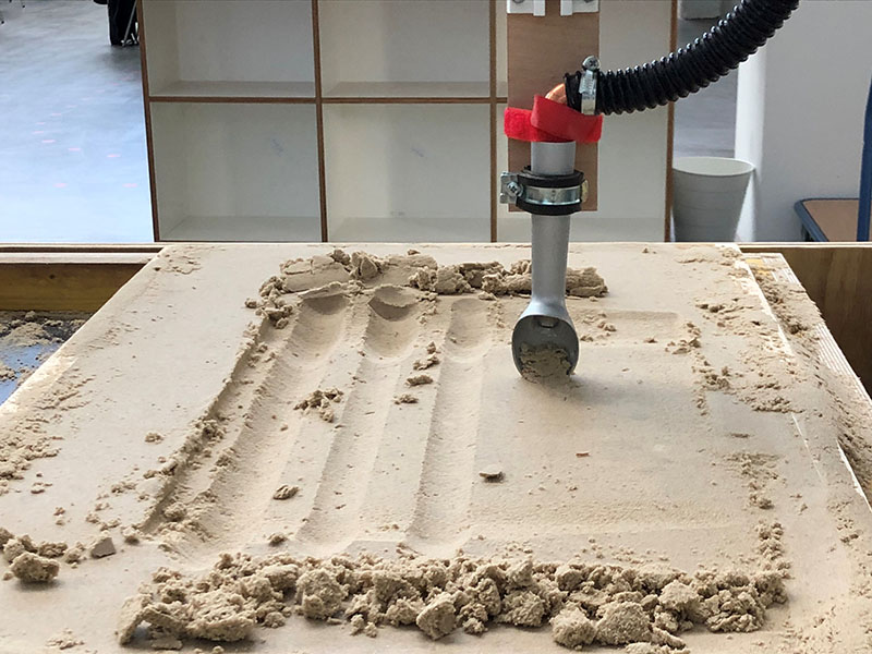 Shaping Sand
